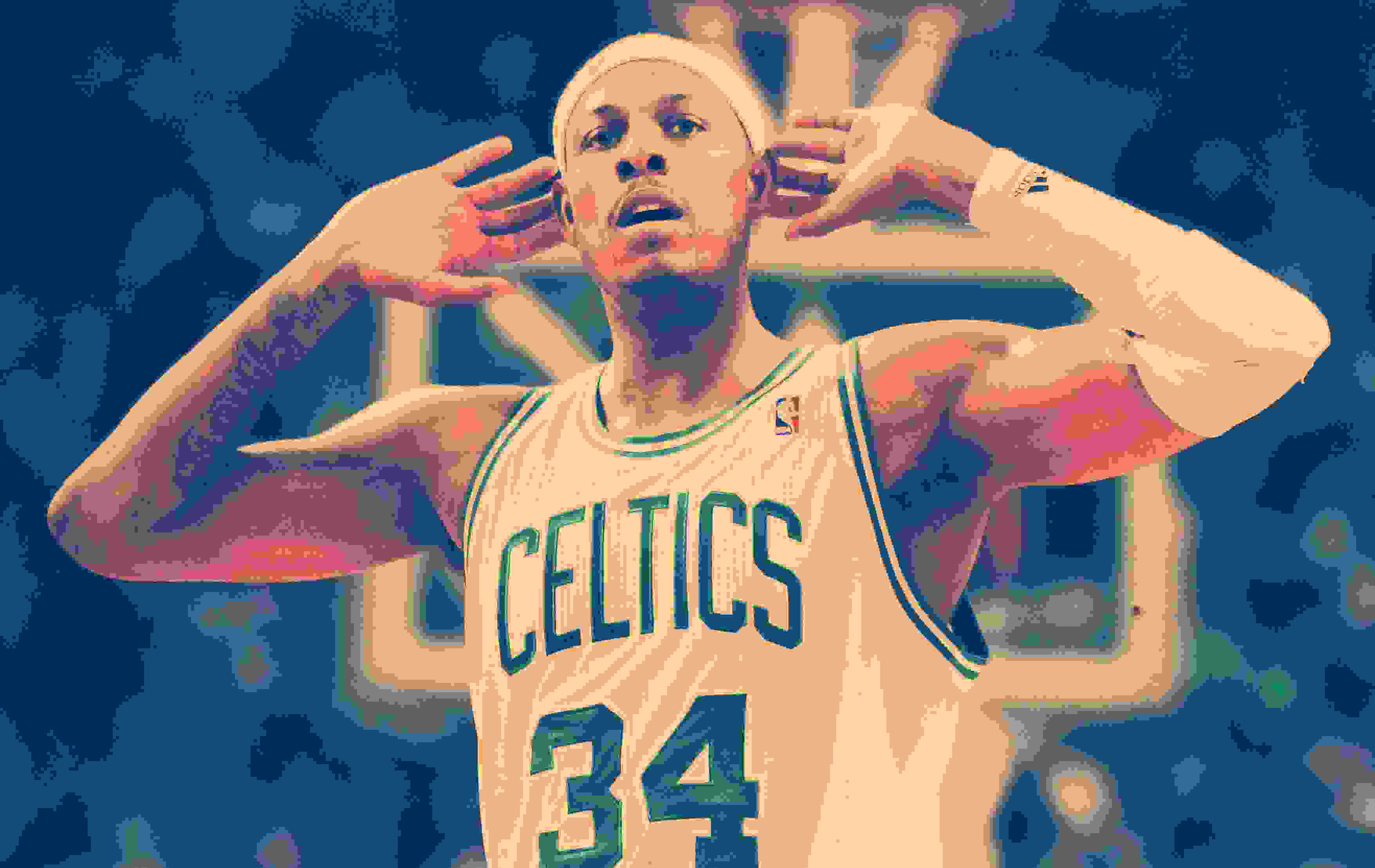 Paul Pierce, leyenda y capitán de los Boston Celtics