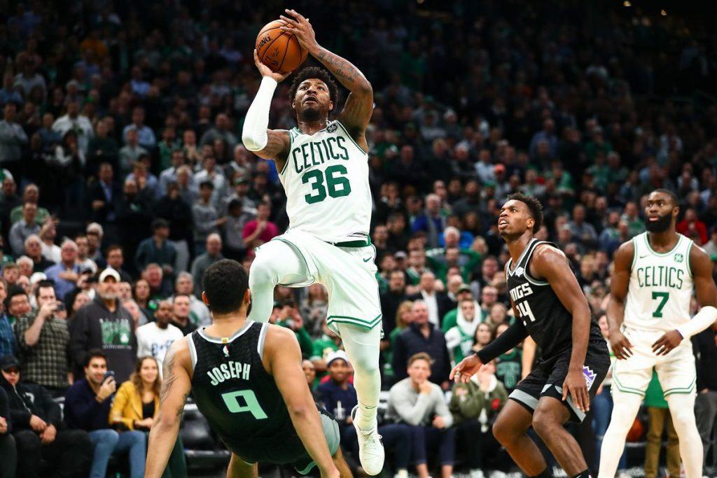 Smart con los Celtics