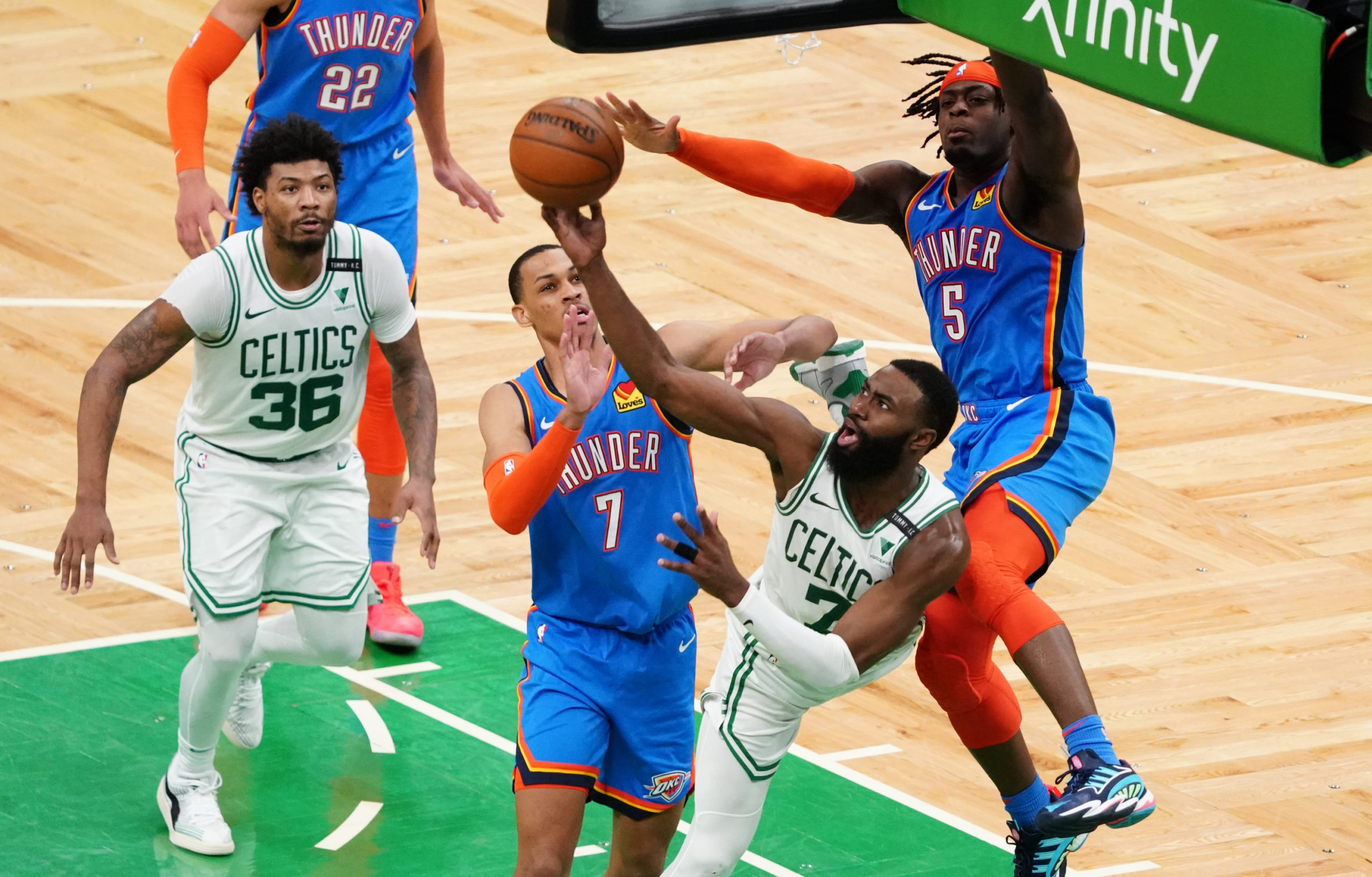 Celtics Brown