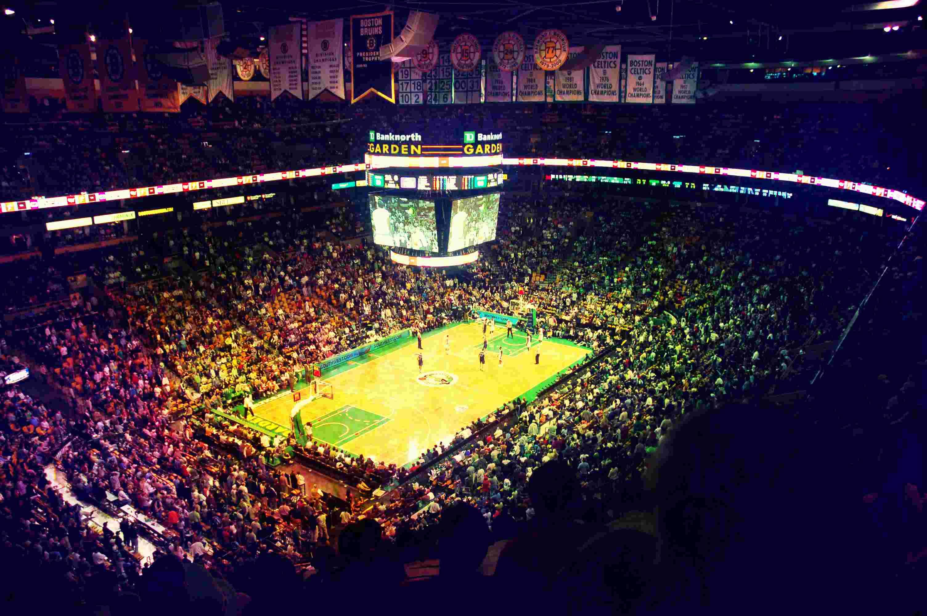 El TD Garden espera por una nueva temporada de los Boston Celtics calendario