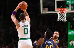 Mike Conley acabó con los Celtics de Tatum.