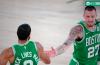 Los Celtics brillaron contra los Raptors en Orlando