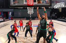 Los Celtics derrotaron 109-101 a los Sixers