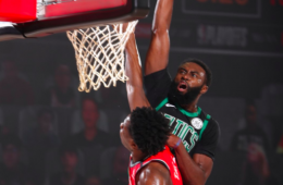 Jaylen Brown lideró a Boston contra los Raptors