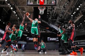 Los Celtics perdieron el juego 5 contra los Heat