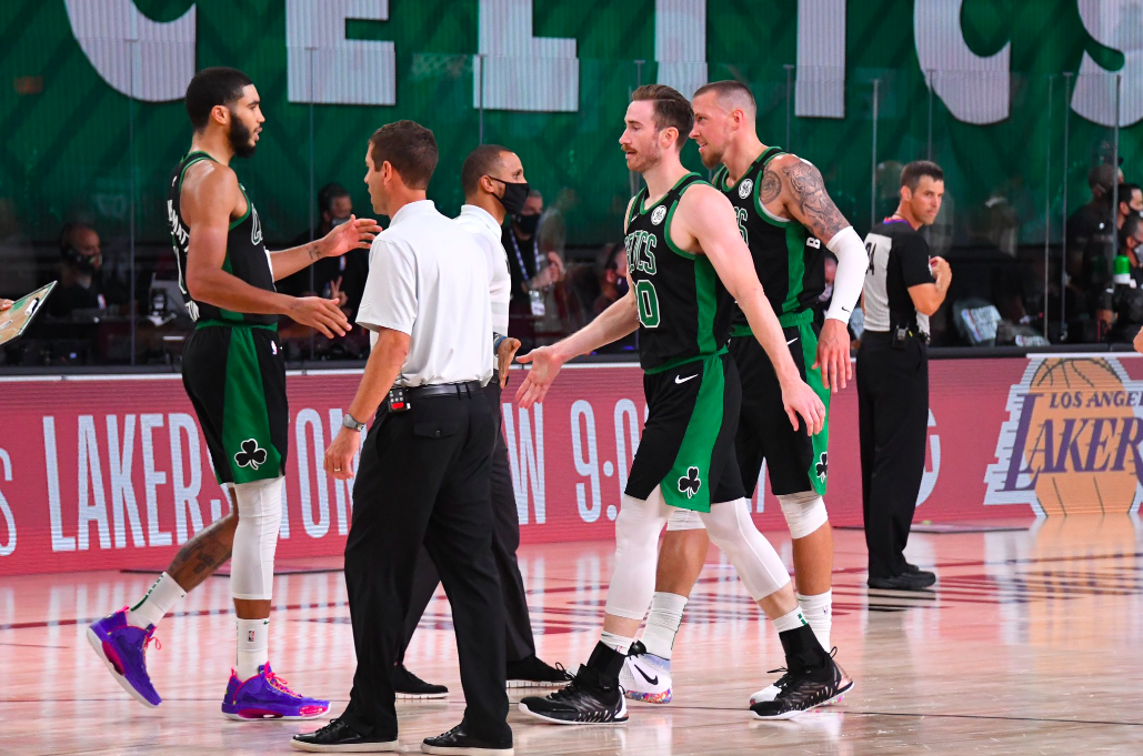 Los Boston Celtics siguen con vida en la burbuja