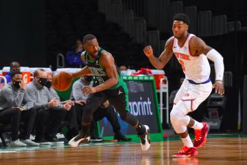 Los Celtics fueron un desastre ante los Knicks