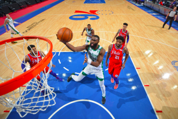 Jaylen Brown, figura de Boston en la derrota ante Philadelphia