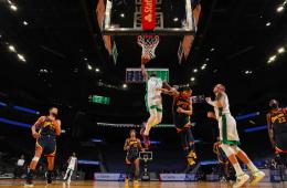 Jaylen Brown fue vital para derrotar a los Golden State Warriors