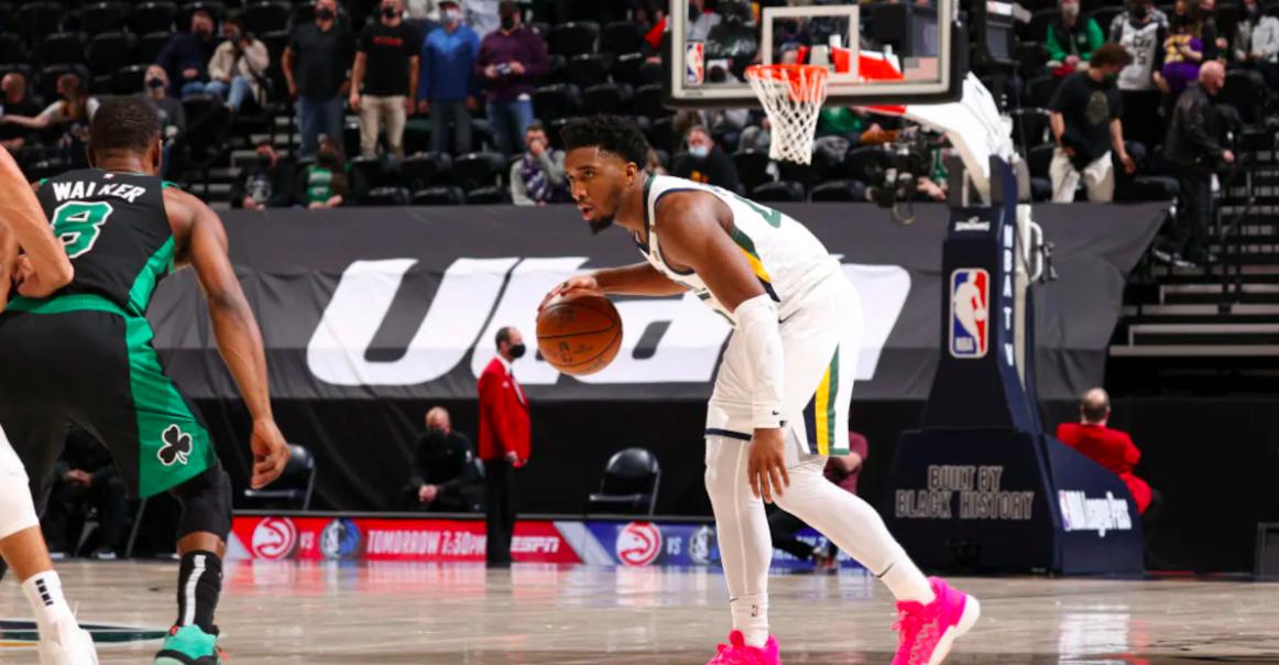 Los Jazz derrotaron a los Celtics en Salt Lake City
