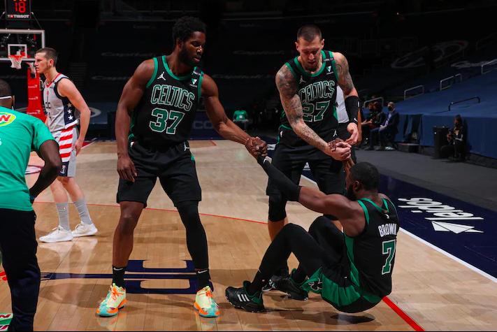 Los Wizards le pintaron la cara a los Celtics
