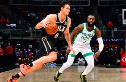Los Hawks pasaron por encima de los Celtics