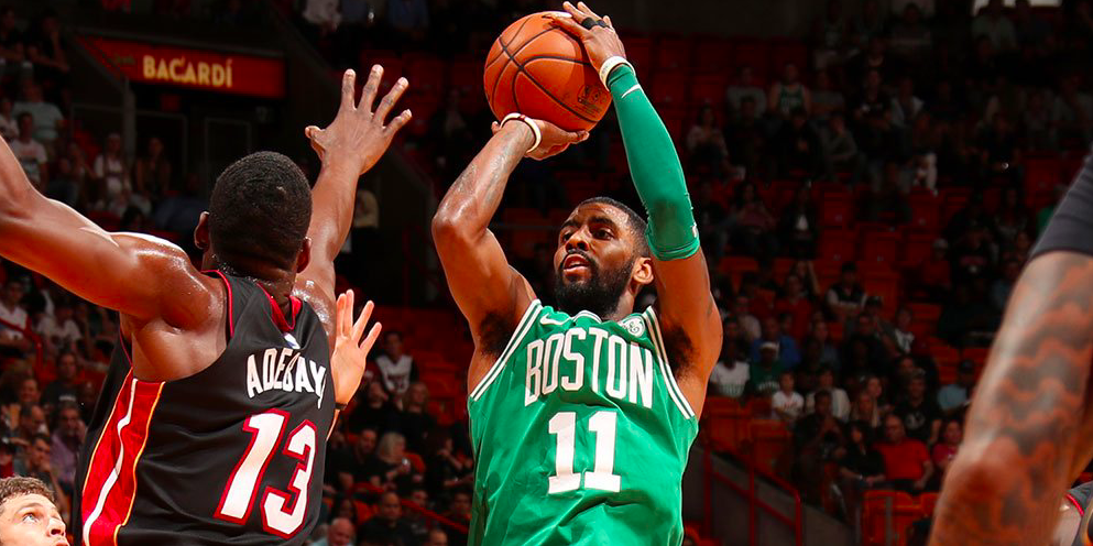 Kyrie Irving la clave en los Boston Celtics