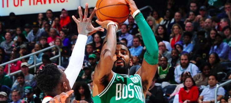 Kyrie Irving lo hace de nuevo y Boston gana en Atlanta