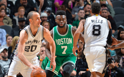 En el último suspiro, los Spurs derrotaron a los Celtics