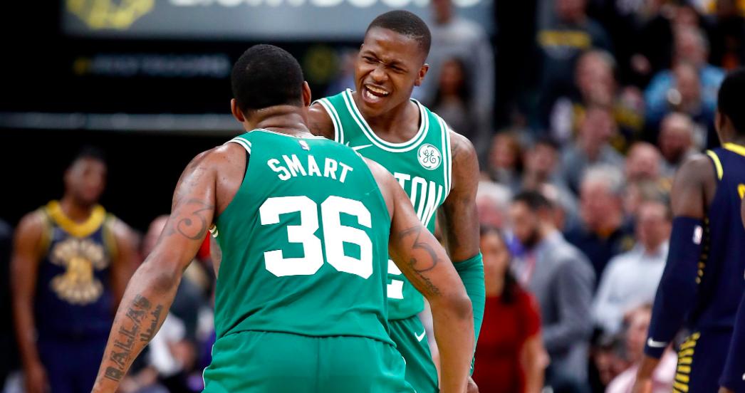 Terry Rozier es la clave en ataque de los Celtics