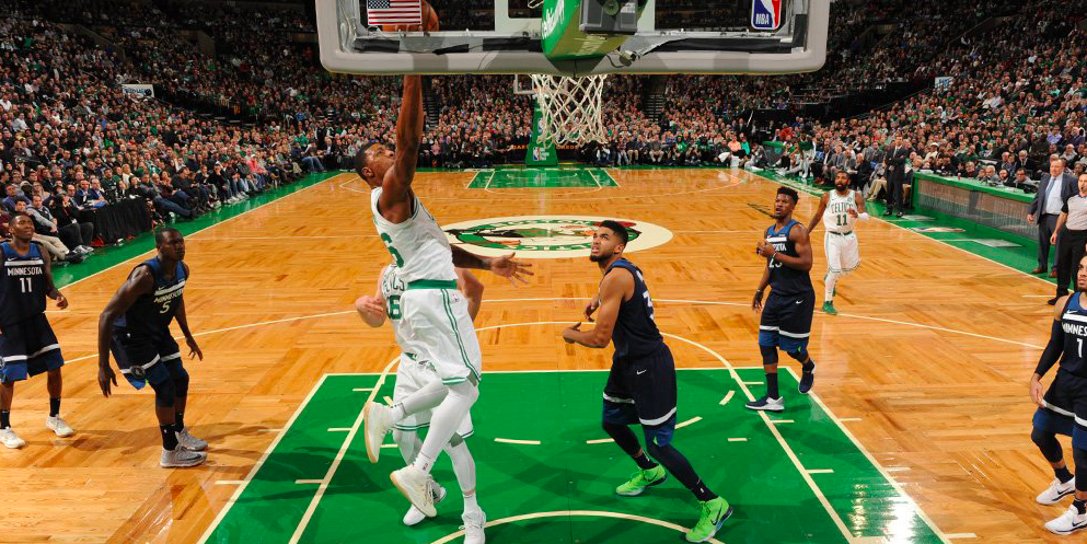 Buen nivel de Smart en la victoria de los Boston Celtics a los Wolves