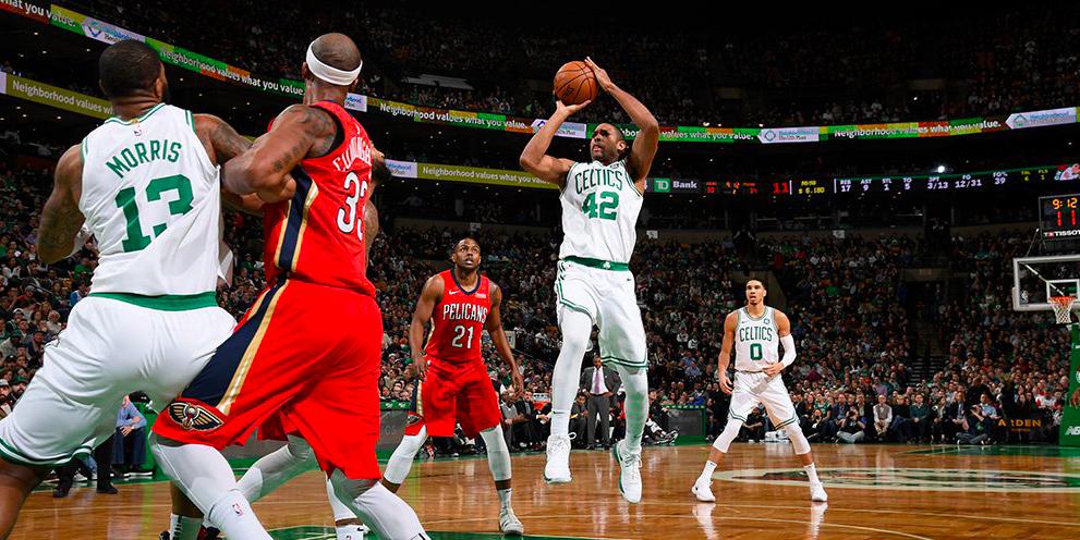 Los Boston Celtics cayeron ante los New Orleans Pelicans de Anthony Davis