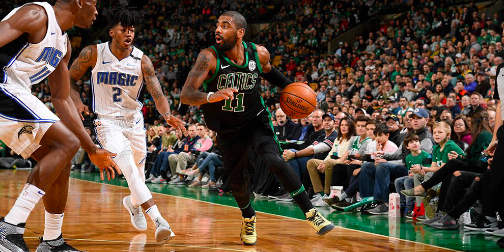 Los Boston Celtics cayeron ante los Magic en el TD Garden en el regreso de Kyrie Irving.