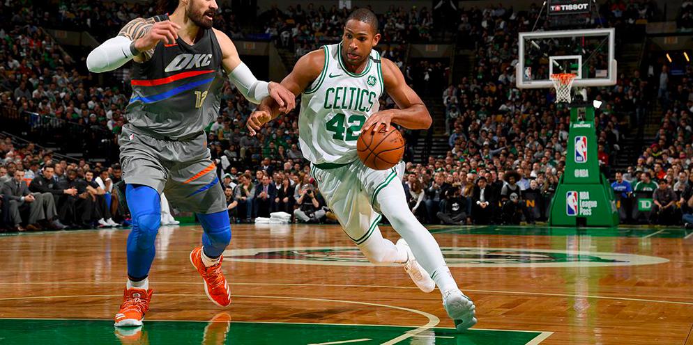 Los Boston Celtics derrotaron a Oklahoma City en un partido de infarto