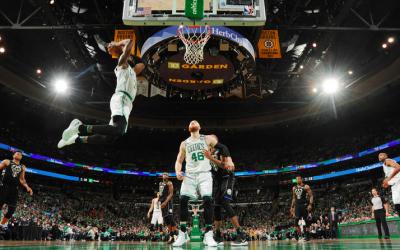 Agónica victoria de los Celtics para empezar los Playoffs