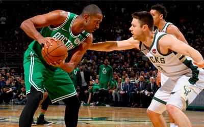 Los Celtics y un partido para el olvido en Milwaukee