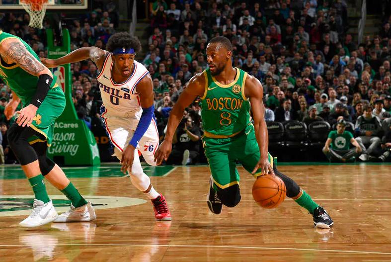 Kemba Walker contra los Philadelphia 76ers Playoffs