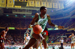 Robert Parish, el jefe de los Boston Celtics