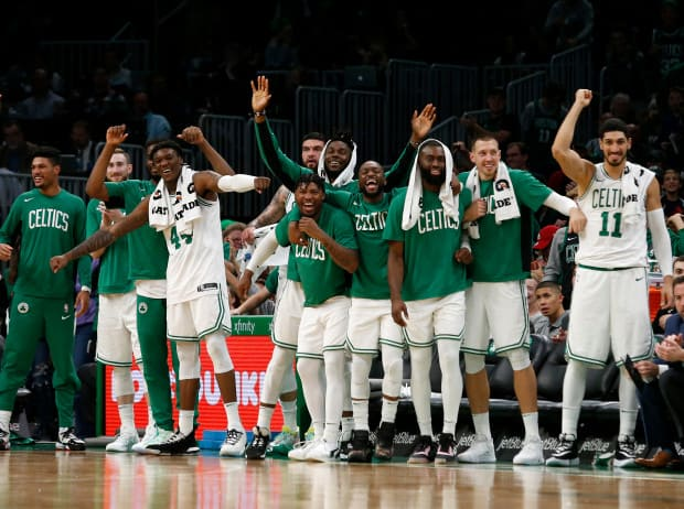 Celtics banquillo