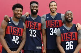 Comienza la Copa Mundial de Baloncesto de 2019 Boston Celtics Usa
