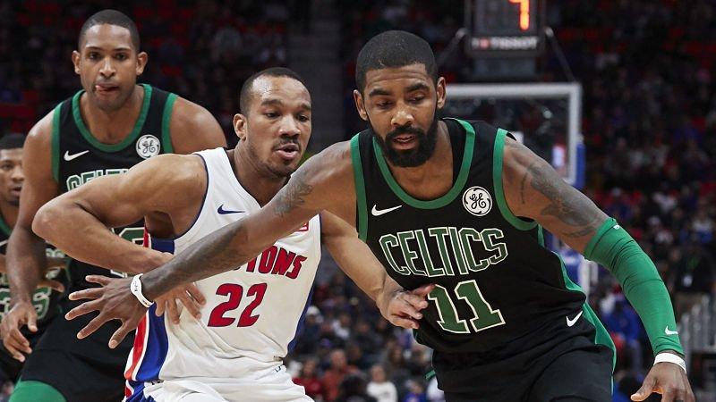 Los Boston Celtics superaron a los Detroit Pistons en un partido feo.