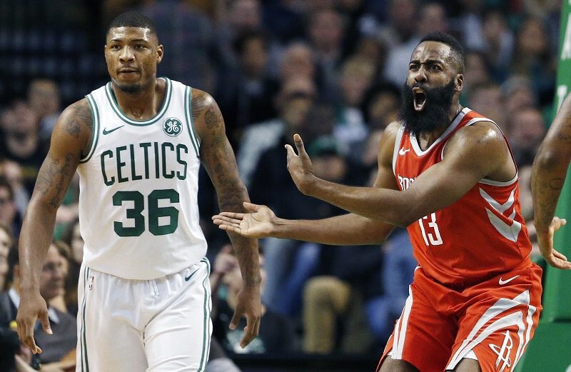 marcus smart, smart, james harden, harden, boston celtics, celtics, houston rockets, rockets, nba, remontada