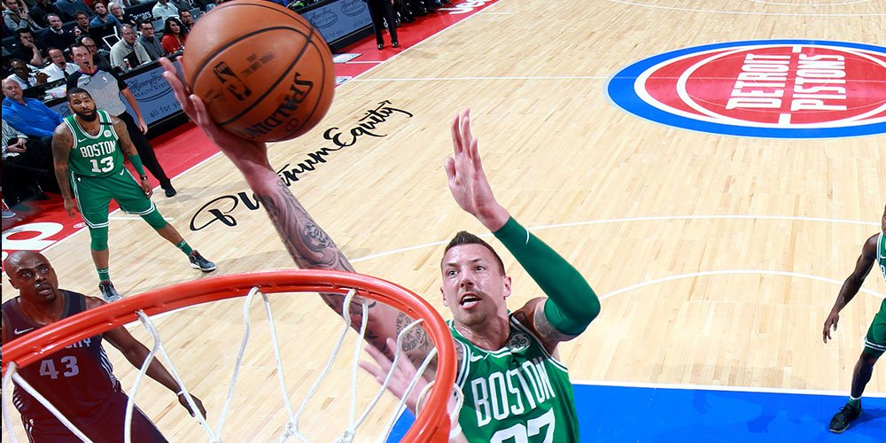 Quinta victoria consecutiva de los Boston Celtics Pistons