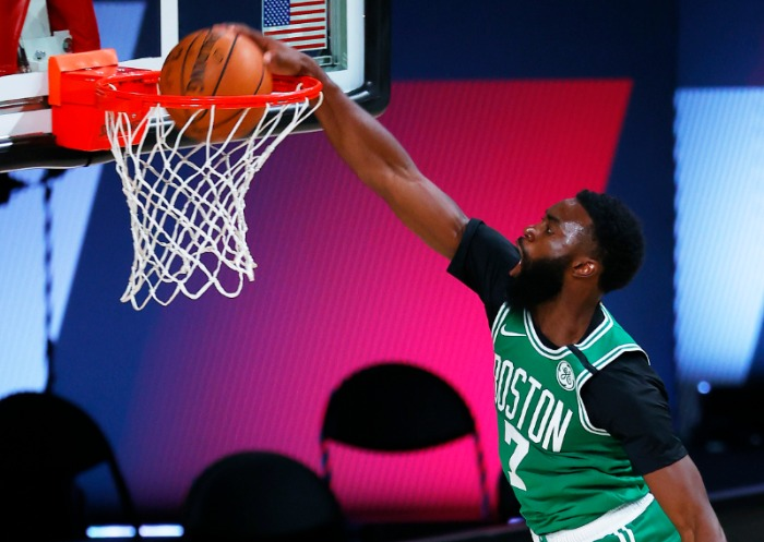 Jaylen Brown Celtics Burbuja NBA
