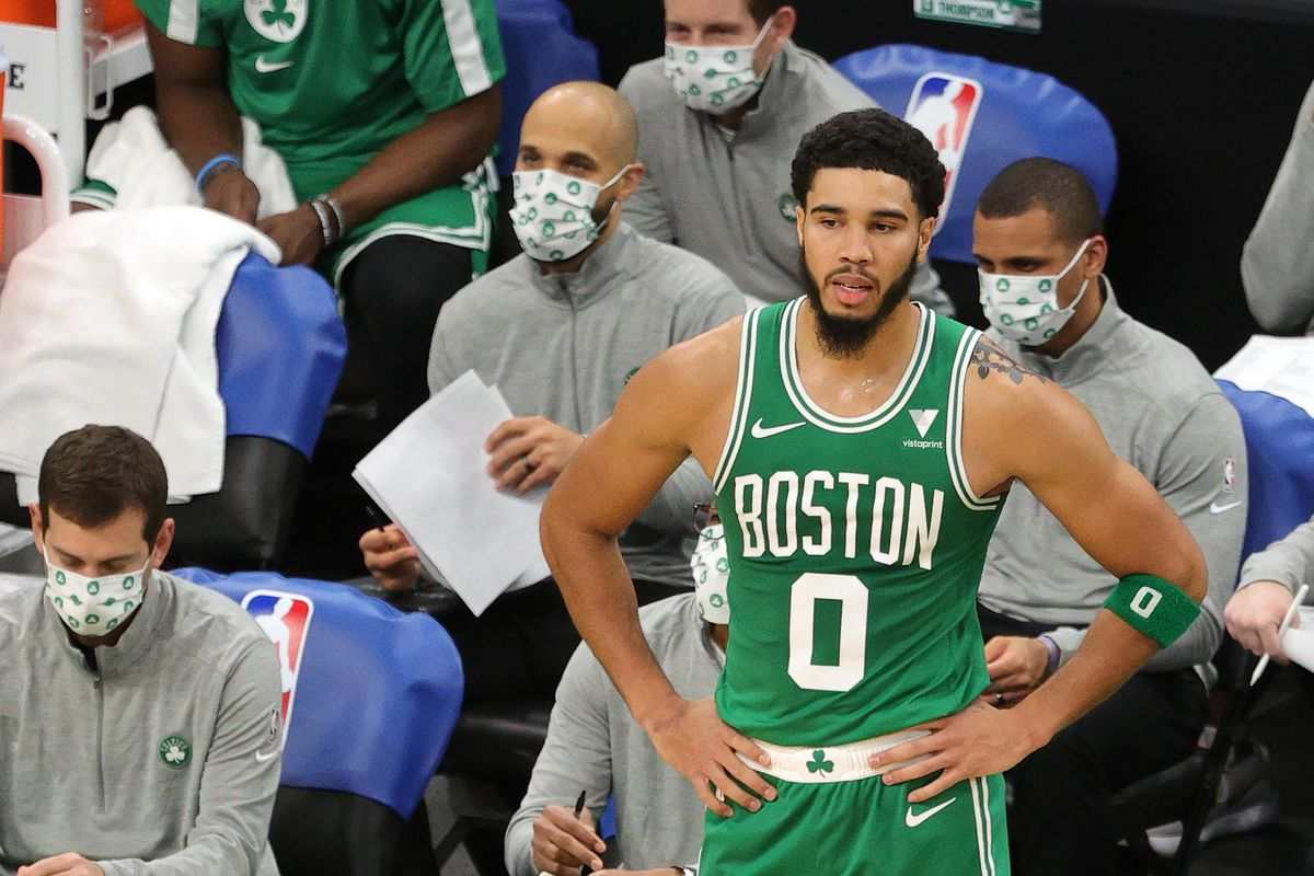 Boston Celtics Jayson Tatum