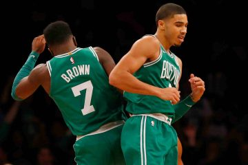 Jayson Tatum y Jaylen Brown Boston Celtics