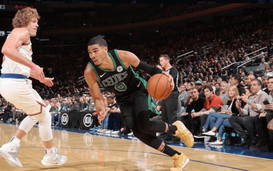 Los Boston Celtics sacan una victoria más trabajada de lo ideal en New York