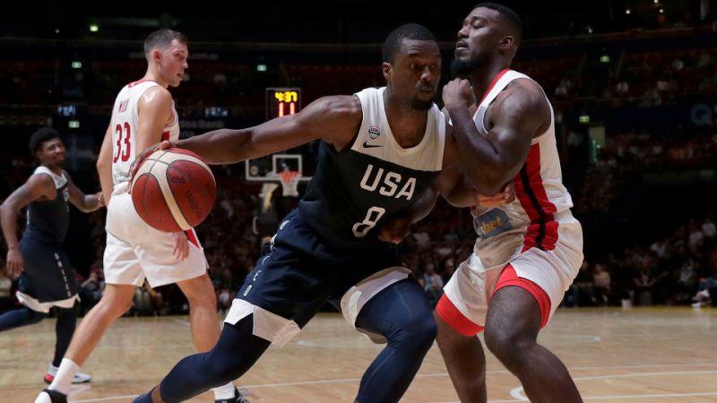 Kemba Walker, MVP en el primer partido del Team USA