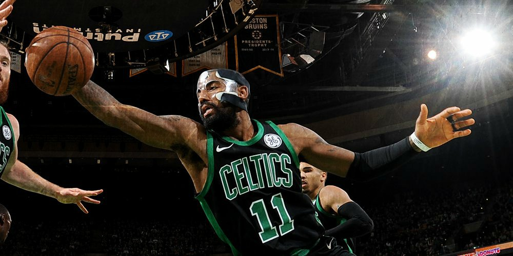 Kyrie Irving lidera a los Celtics en anotación una vez más.