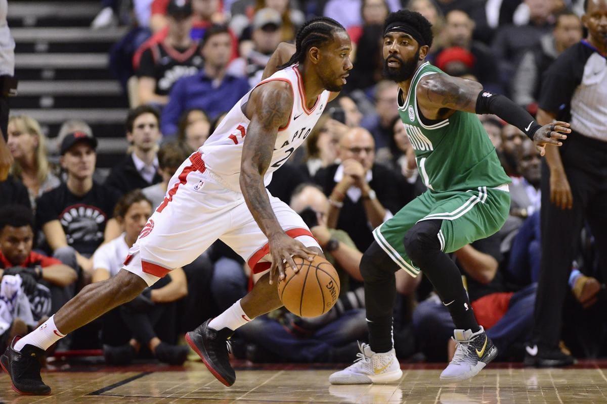 Los Raptors se llevan el primer partido de temporada regular frente a los Boston Celtics
