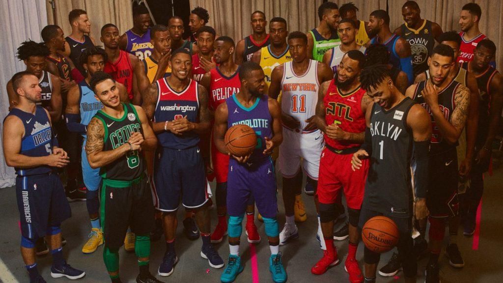 Las 30 nuevas camisetas de la NBA