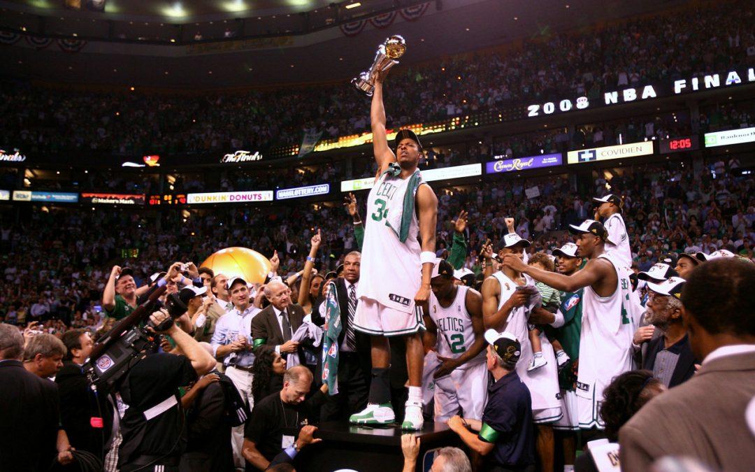 Diez años del banner #17 de los Boston Celtics