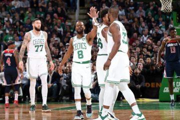 Jugadores de los Celtics