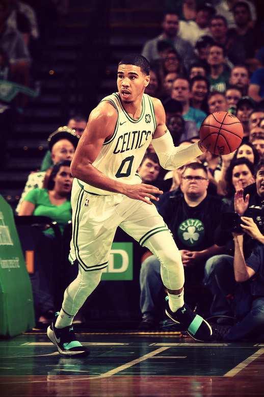 Tatum destacandose en los Celtics