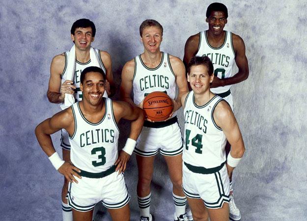 Boston Celtics mejores jugadores 1986