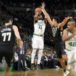 Festival de triples en el Garden para una victoria de los Boston Celtics sobre los Bucks
