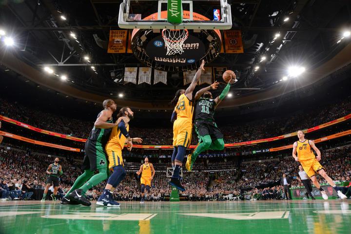 Otro bajón de los Boston Celtics en la derrota contra los Utah Jazz