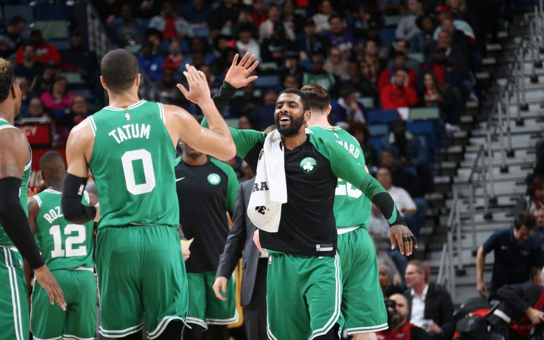 Versión mejorada de Boston para ganarle a los New Orleans Pelicans