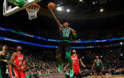 Los Celtics, mermados, pasaron a los Pelicans