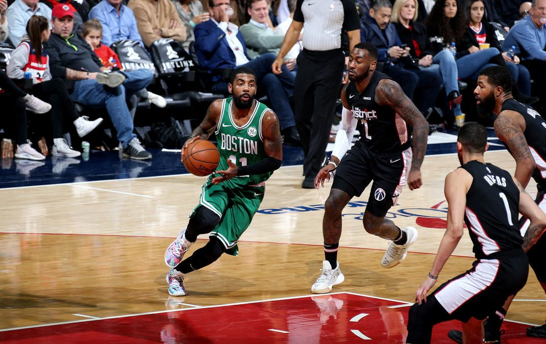 Cánticos de MVP para Kyrie Irving en Washington